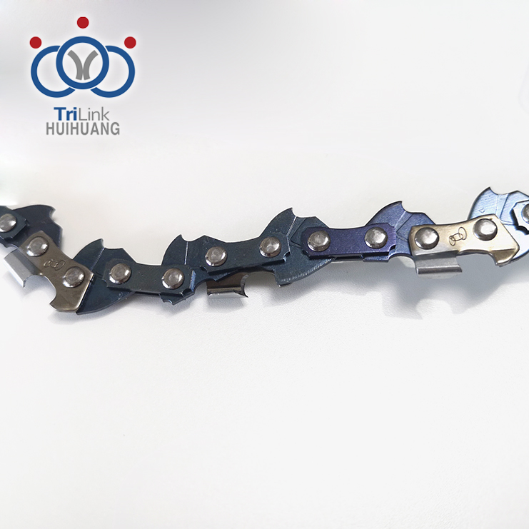 Different Roller Chrome Plating Electric Saw Chain Spare Parts For Wood Cutting