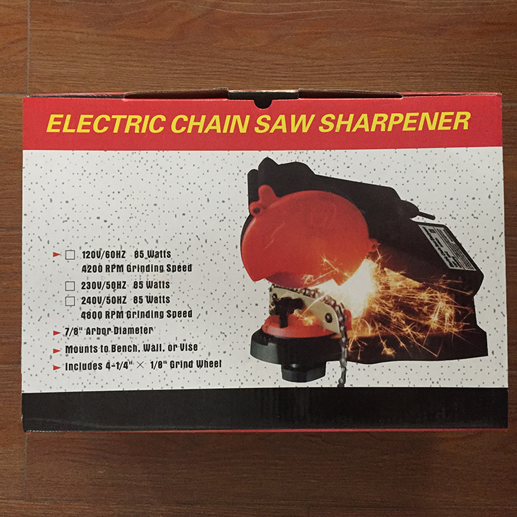 Chainsaw Grinder 120v 85W Portable Electric Chainsaw Chain Sharpener